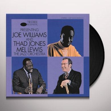 PRESENTING JOE WILLIAMS & THAD JONES/MEL LEWIS THE Vinyl Record