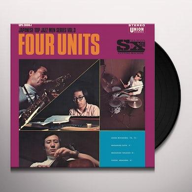Akira Miyazawa / Masahiko Sato / Masahiko Togashi FOUR UNITS 3 Vinyl Record