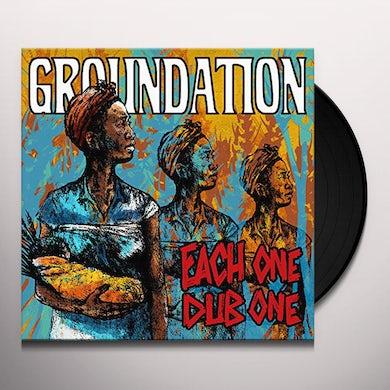Groundation EACH ONE DUB ONE Vinyl Record