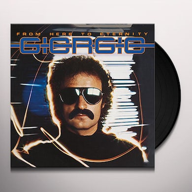 Giorgio Moroder FROM HERE TO ETERNITY Vinyl Record