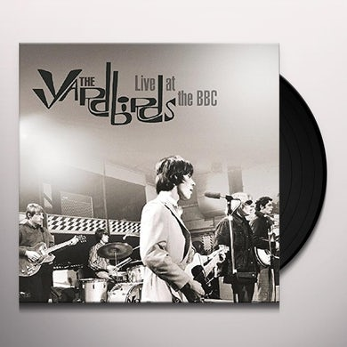 The Yardbirds LIVE AT THE BBC Vinyl Record
