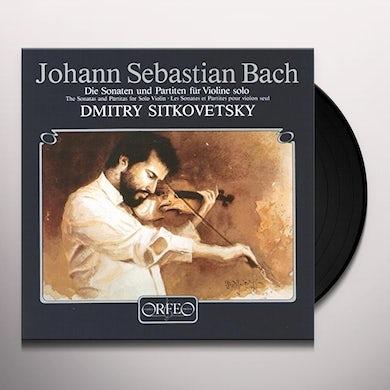 Dmitry Sitkovetsky SONATEN & PARTITEN Vinyl Record