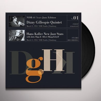 Dizzy Gillespie & Hans Koller New Jazz Stars NDR 60 YEARS JAZZ EDITION NO01 Vinyl Record