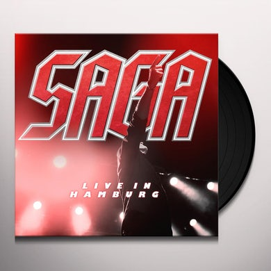 Saga LIVE IN HAMBURG Vinyl Record