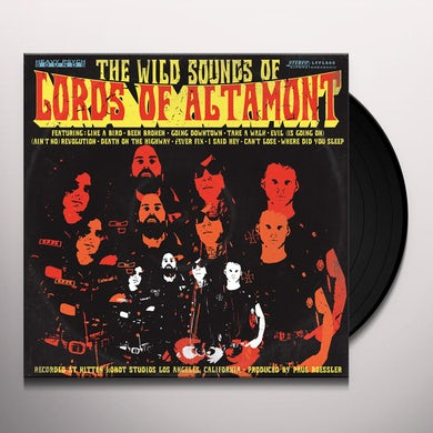 WILD SOUNDS OF LORDS OF ALTAMONT (COLOR VINYL) Vinyl Record