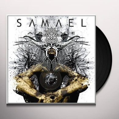 Samael ABOVE Vinyl Record - Holland Release