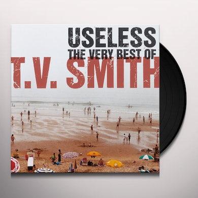 T.V. Smith USELESS - VERY BEST OF Vinyl Record