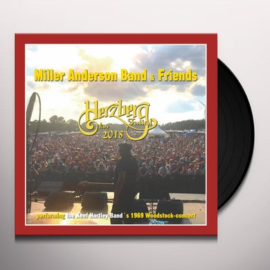 Miller Anderson Band & Friends LIVE AT HERZBERG FESTIVAL Vinyl Record