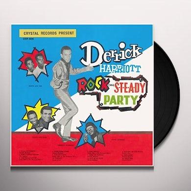 Derrick Harriott ROCK STEADY PARTY Vinyl Record