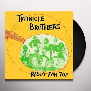 Twinkle Brothers RASTA PON TOP Vinyl Record