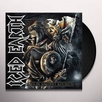 Iced Earth LIVE IN ANCIENT KOURION Vinyl Record