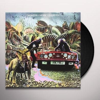 I Monster NEVERODDOREVEN Vinyl Record