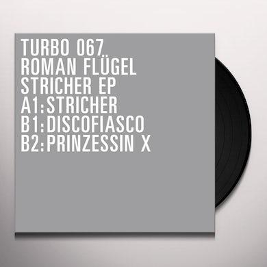 Roman Flügel STRICHER EP Vinyl Record