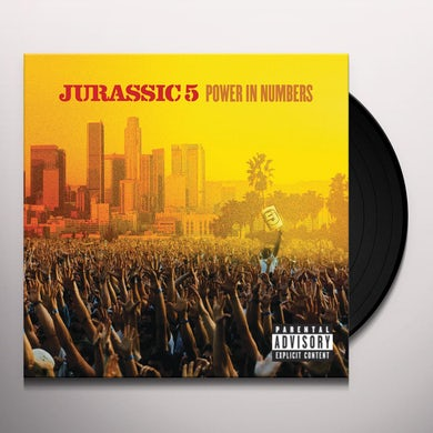Jurassic 5 POWER IN NUMBERS Vinyl Record