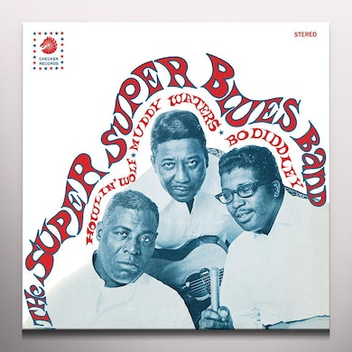 Super Super Blues Band HOWLIN' WOLF MUDDY WATERS & BO DIDDLEY Vinyl Record