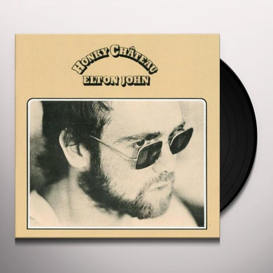 Elton John HONKY CHATEAU Vinyl Record