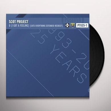 Scot Project U (I GOT A FEELING) Vinyl Record