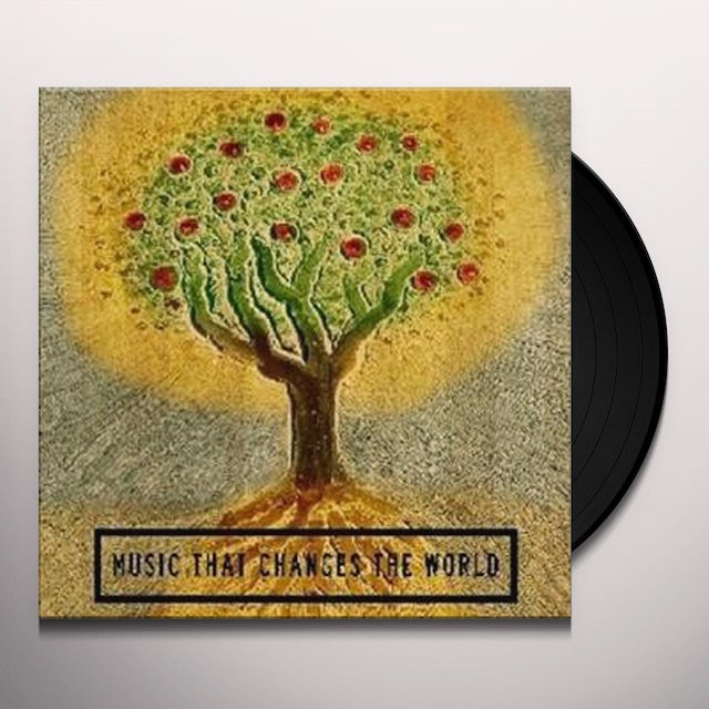 Music That Changes The World / Various BOX) Vinyl Record - Limited Edition