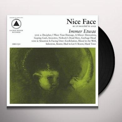 Nice Face  IMMER ETWAS Vinyl Record