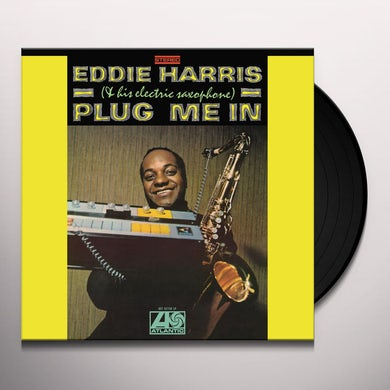 Eddie Harris PLUG ME IN Vinyl Record