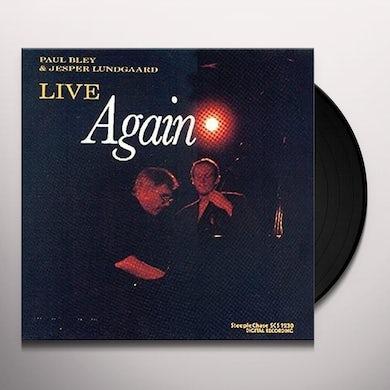Paul Bley LIVE AGAIN Vinyl Record