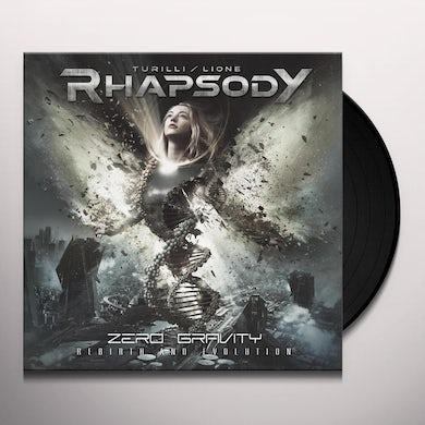 Turilli Rhapsody ZERO GRAVITY (REBIRTH & EVOLUTION) Vinyl Record
