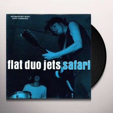 Flat Duo Jets SAFARI Vinyl Record