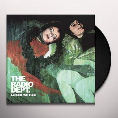 Radio Dept LESSER MATTERS Vinyl Record