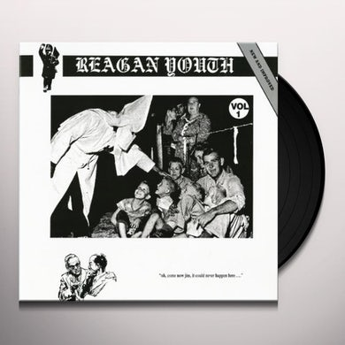 Reagan Youth VOLUME 1 (GREEN VINYL) Vinyl Record