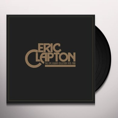Derek & The Dominos / Eric Clapton LIVE ALBUM COLLECTION Vinyl Record - UK Release