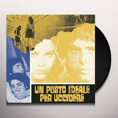 UN POSTO IDEALE PER UCCIDERE / Original Soundtrack Vinyl Record