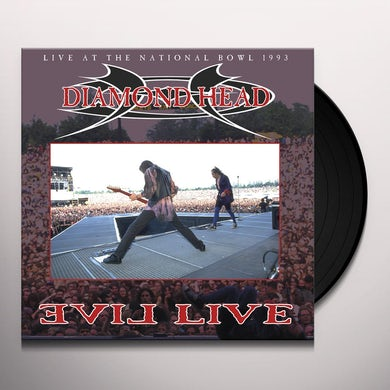 Diamond Head EVIL LIVE Vinyl Record