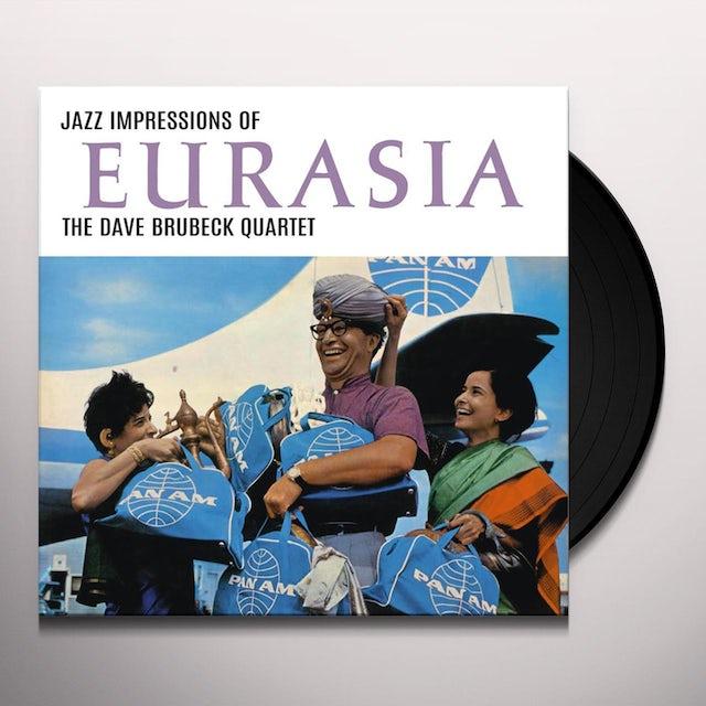 Dave Brubeck JAZZ IMPRESSIONS OF EURASIA Vinyl Record