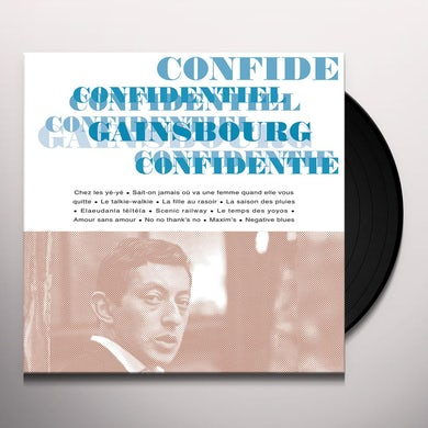Serge Gainsbourg CONFIDENTIEL Vinyl Record