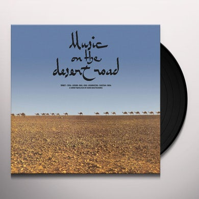 Deben Bhattacharya MUSIC ON THE DESERT ROAD Vinyl Record