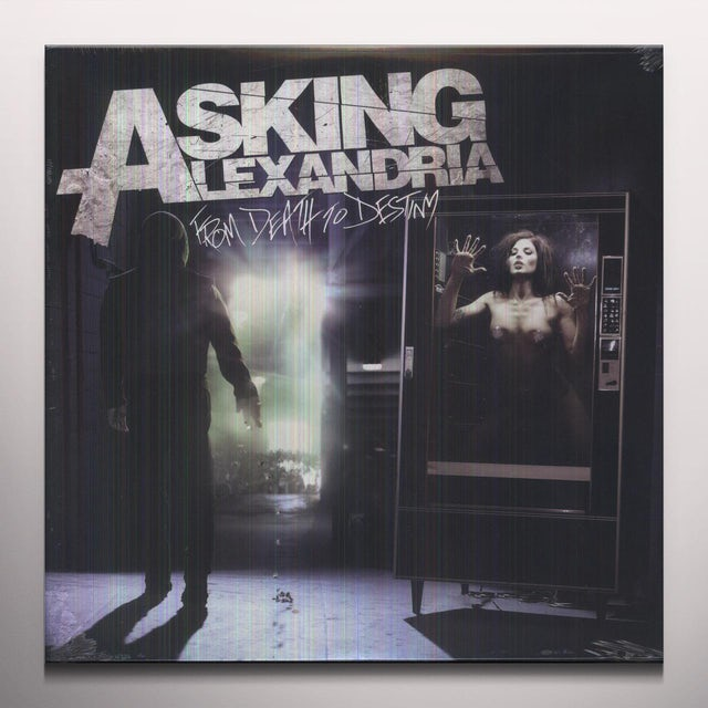 Asking Alexandria FROM DEATH TO DESTINY (YELLOW VINYL) Vinyl Record - Colored Vinyl