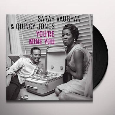 Sarah Vaughan YOU'RE MINE YOU Vinyl Record