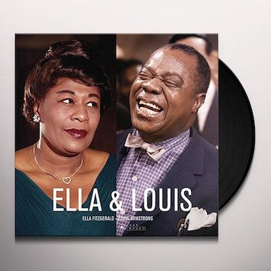Ella Fitzgerald ELLA & LOUIS Vinyl Record