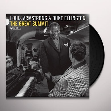 Louis Armstrong GREAT SUMMIT Vinyl Record