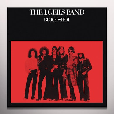 J Band Geils BLOODSHOT Vinyl Record