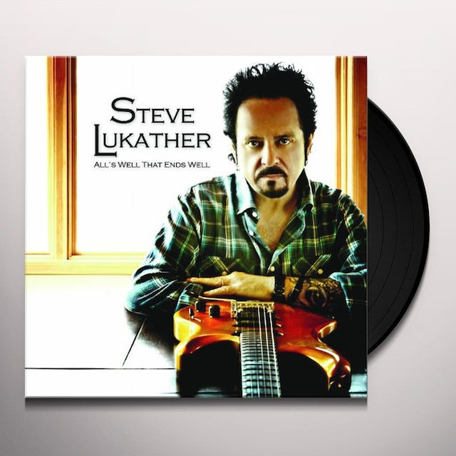 Steve Lukather ALLS WELL WHEN ENDS WELL Vinyl Record