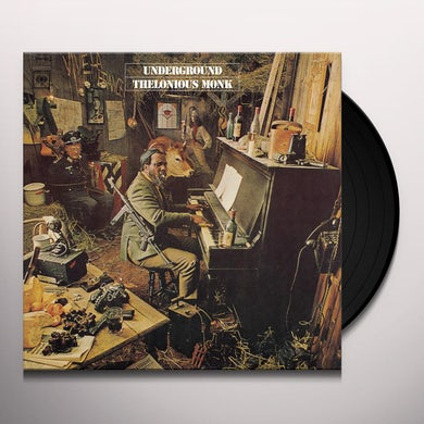 Thelonious Monk UNDERGROUND Vinyl Record