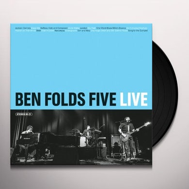 Ben Folds Five LIVE Vinyl Record
