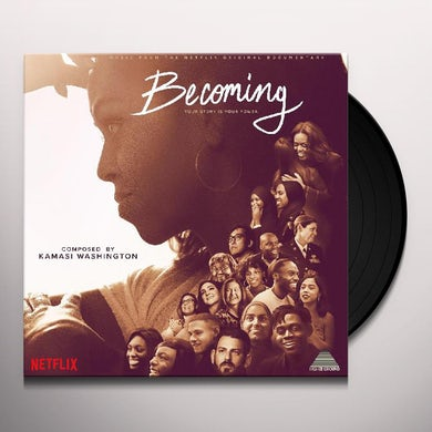 Kamasi Washington BECOMING (MUSIC FROM NETFLIX DOCUMENTARY) - Original Soundtrack Vinyl Record