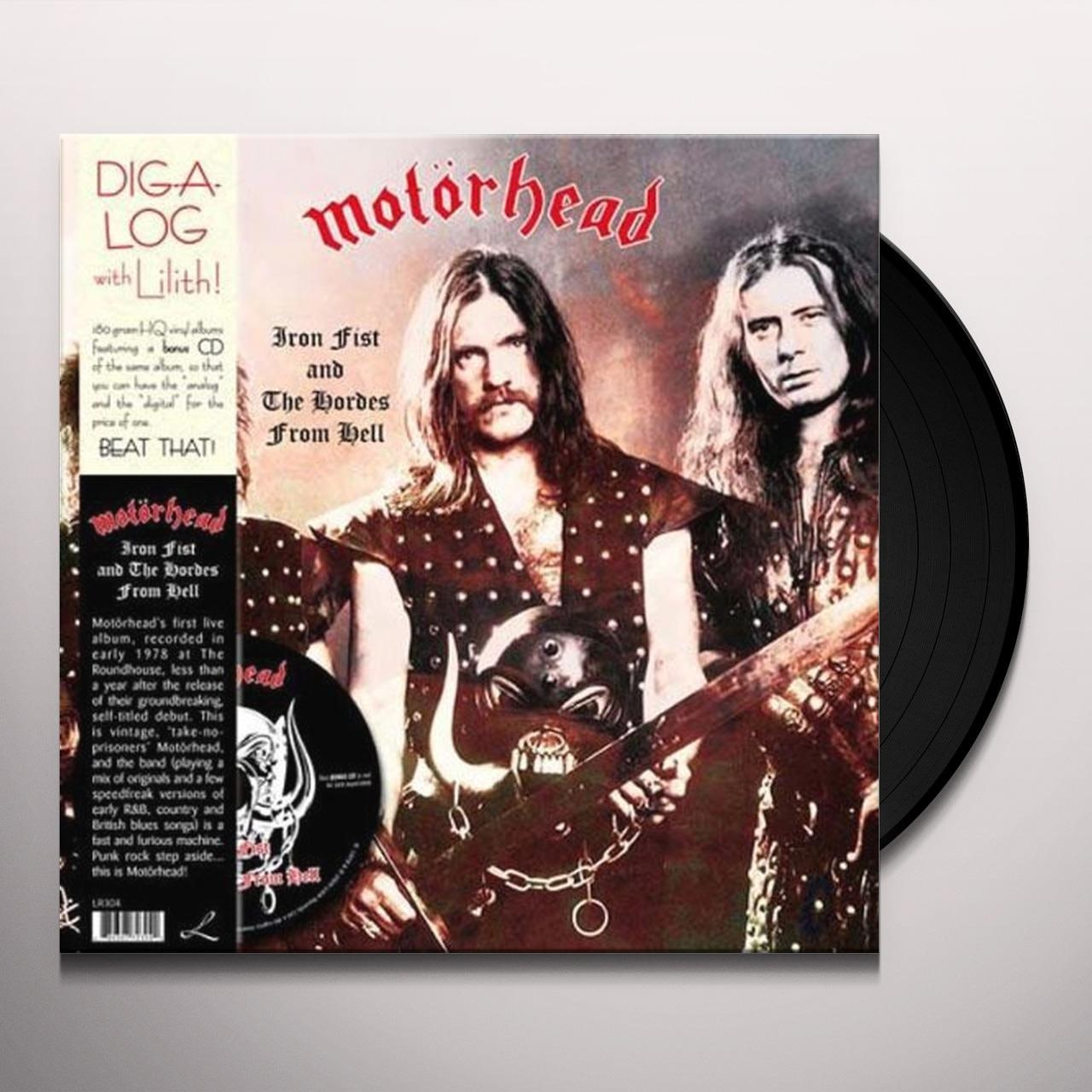 Motorhead IRON FIST & THE HORDES FROM HELL Vinyl Record