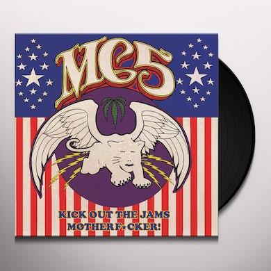 MC5 KICK OUT THE JAMS MOTHERFUCKER! Vinyl Record