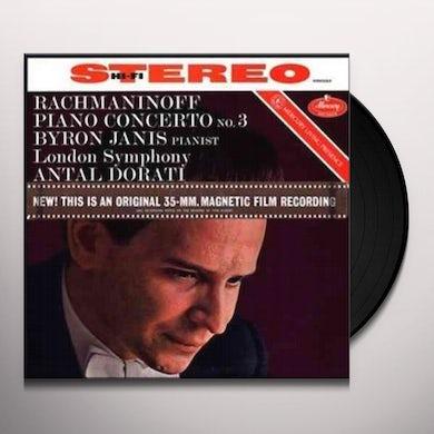 RACHMANINOFF / JANIS / DORATI / LSO PIANO CONCERTO NO 3 IN D MINOR Vinyl Record