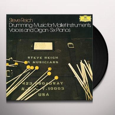 Steve Reich REICH: DRUMMING Vinyl Record