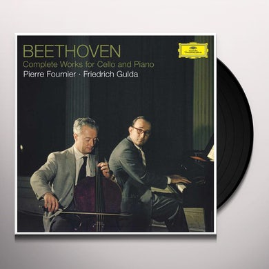 Pierre Fournier Beethoven: Complete Works For Cello And Piano Vinyl Record