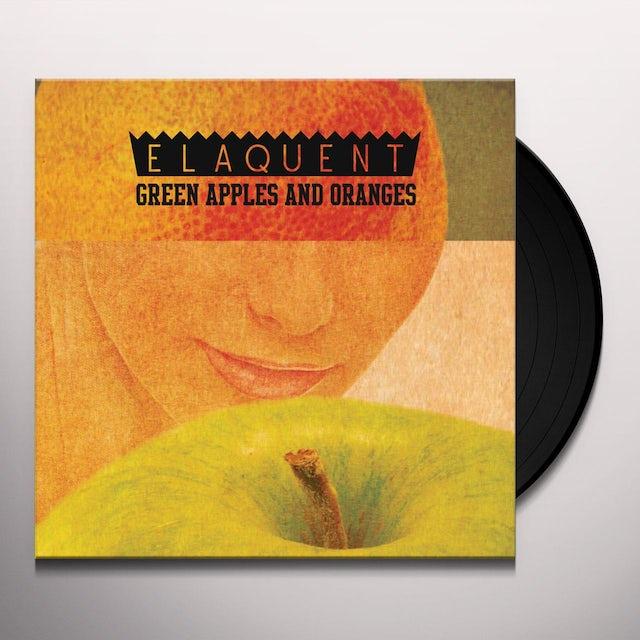 Elaquent GREEN APPLES & ORANGES Vinyl Record